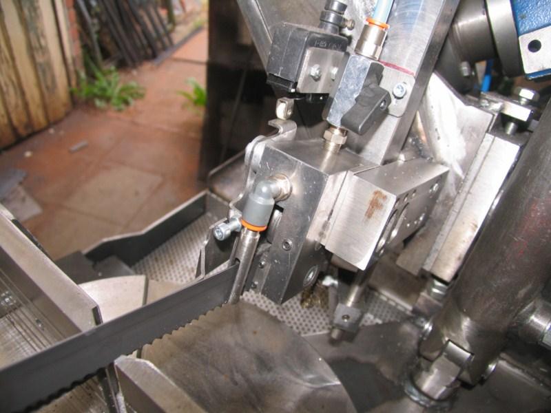 Scie à ruban à métaux MétalProfi SRM210FH Scm365