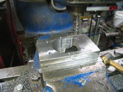 Fabrication d'un renvoi d'angle pour Bridgeport Ra019a