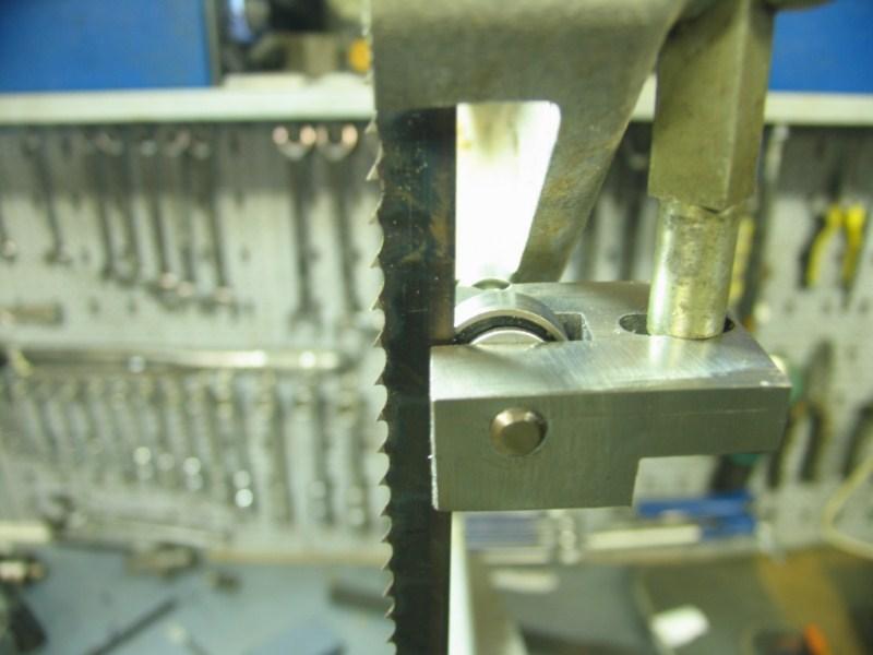 Remise en état d'une petite scie à ruban Sc19