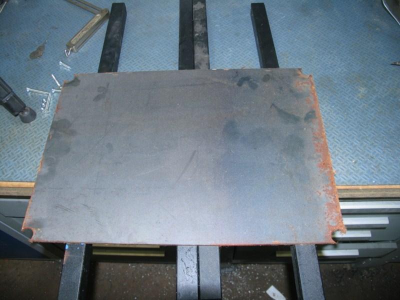 Remise en état d'une petite scie à ruban Sc31