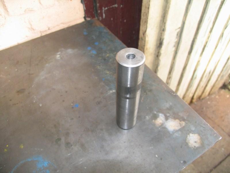 Fabrication d'un tour à bois Tp001