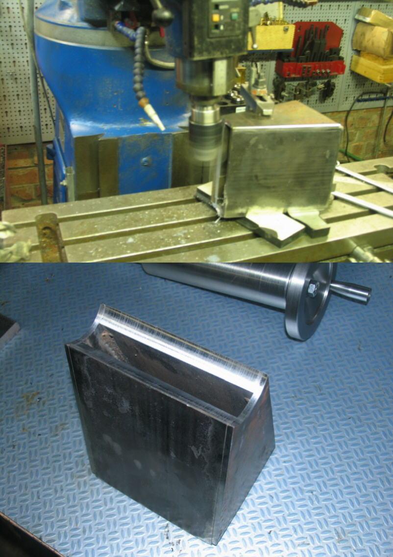 Fabrication d'un tour à bois Tp041s