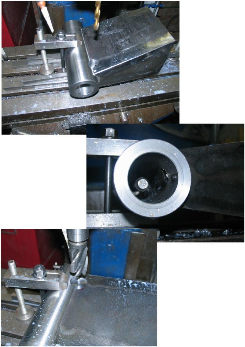 Fabrication d'un tour à bois Tp049s