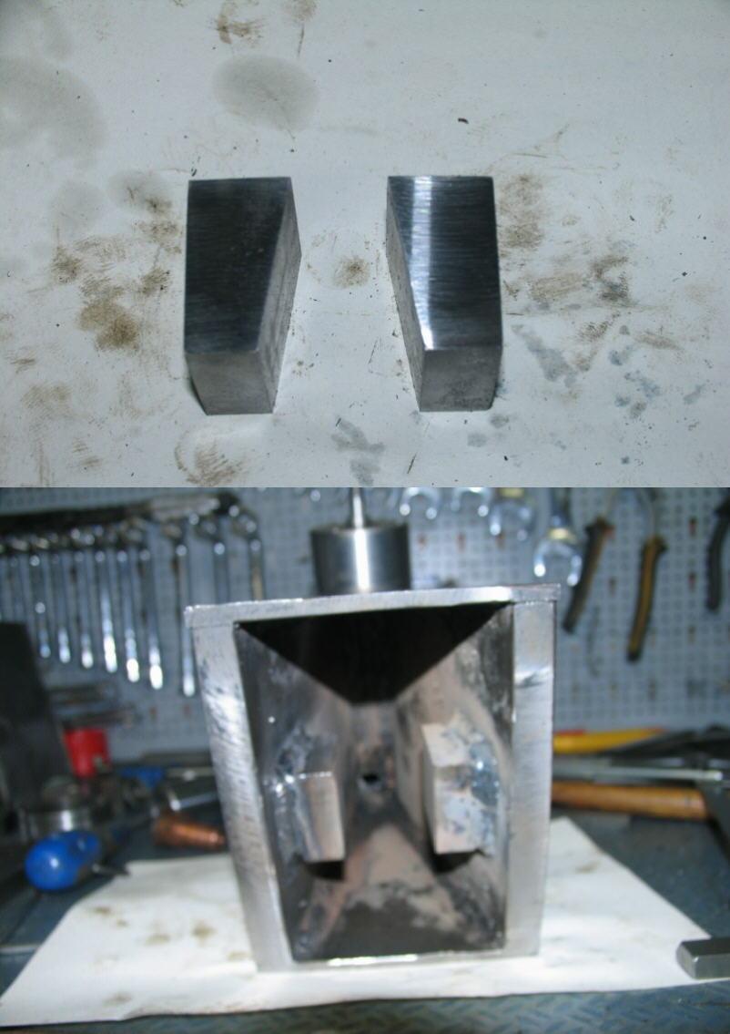 Fabrication d'un tour à bois Tp052s