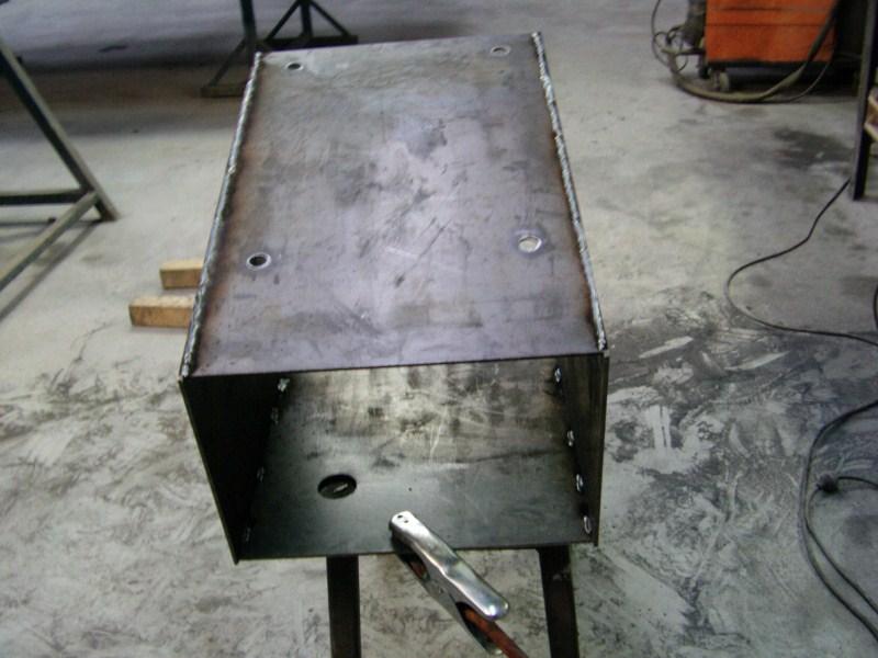 Fabrication d'un tour à bois Tp087