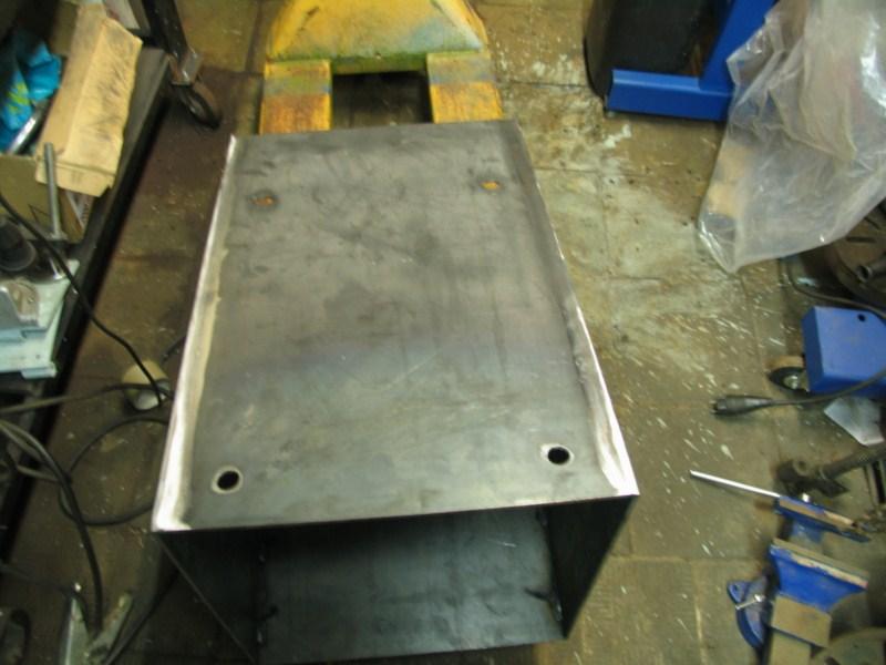 Fabrication d'un tour à bois Tp089